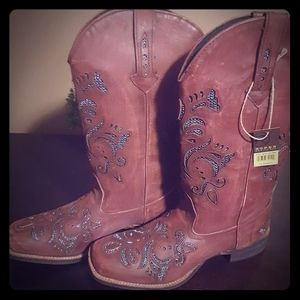 NWT Ladies Roper Boots